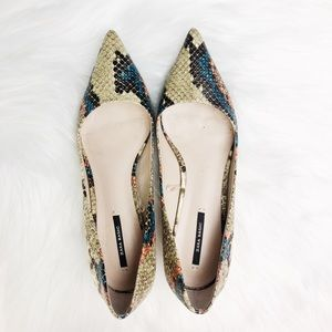 Zara Basics Heel Size 38
